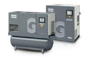 Atlas Copco compressor installatie