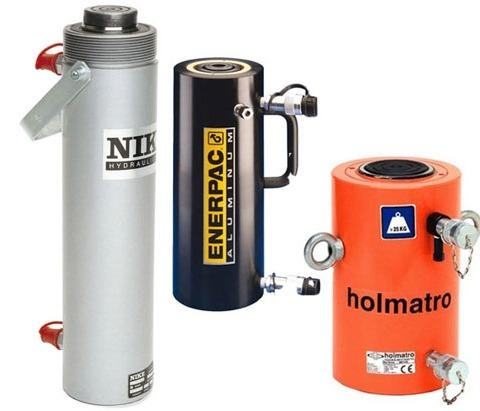 Dubbelwerkende cilinders van diverse merken