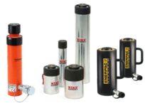 Enkelwerkende cilinders van diverse merken