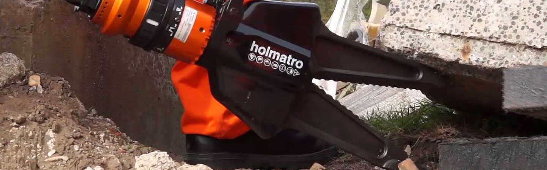 Holmatro is specialist in high pressure hydraulic tools